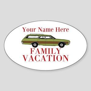Retro Family Vacation Sticker