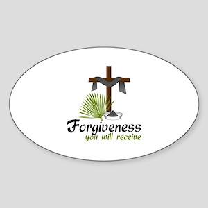 Forgiveness You Will Receive Sticker
