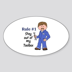 STAY OUT OF MY TOOLBOX Sticker