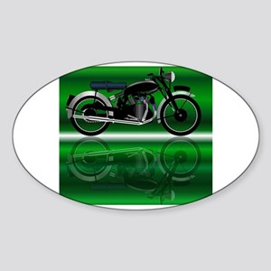 Classic Motor Cycle Sticker