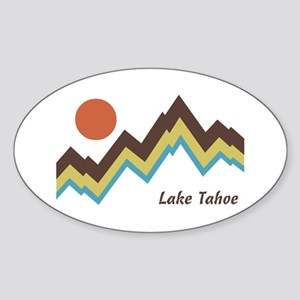 Lake Tahoe Sticker (Oval)