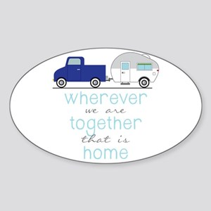 That Is Home Sticker