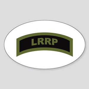 LRRP Tab OD Oval Sticker