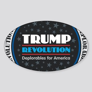 Trump Revolution DeplorablesTrump Revoluti Sticker