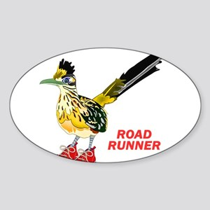 Road Runner in Sneakers Sticker