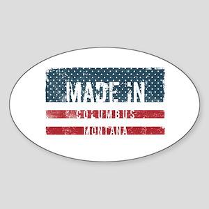Made in Columbus, Montana Sticker