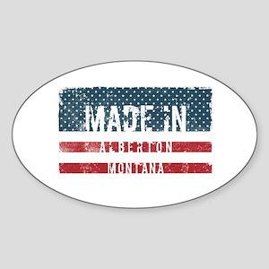 Made in Alberton, Montana Sticker