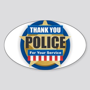 Thank You Police Sticker