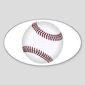 Baseball Game Time Sticker