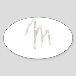 """Letter """"M"""" (Candies) Sticker"""