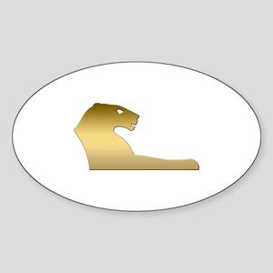 Ancient Egyptian lion – goddess Sekhmet Sticker