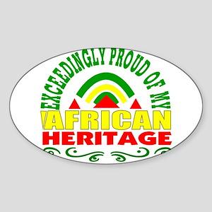 African American Sticker