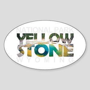 Yellowstone - Wyoming, Montana, Idaho Sticker