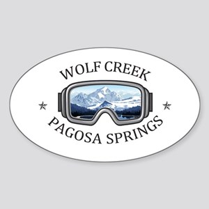 Wolf Creek Ski Area - Pagosa Springs - C Sticker