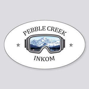 Pebble Creek - Inkom - Idaho Sticker