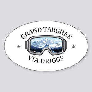 Grand Targhee - via Driggs - Wyoming Sticker