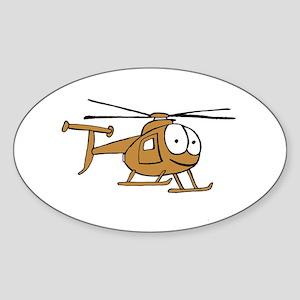 OH-6Tan Sticker