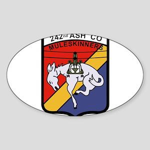 242nd ASH Company Muleskinners Sticker