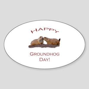 Groundhog Day Kis Sticker