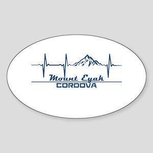 Mount Eyak - Cordova - Alaska Sticker