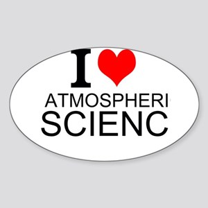 I Love Atmospheric Science Sticker