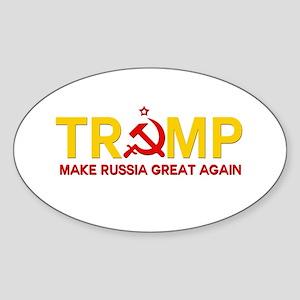 Trump Make Russia Great Again Sticker