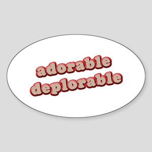 AD Sticker (Oval)