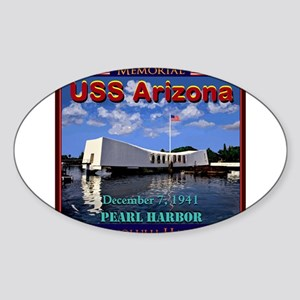 USS Arizona Sticker