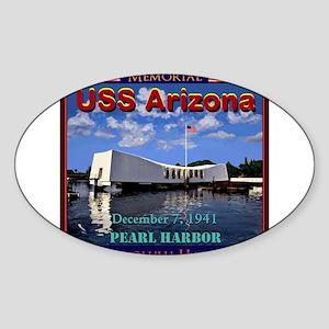 USS Arizona Sticker