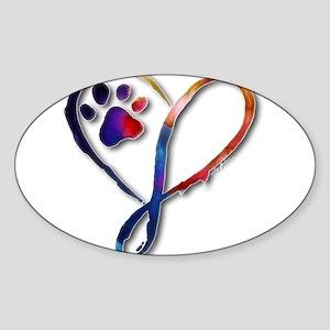 Infinity Paw Sticker