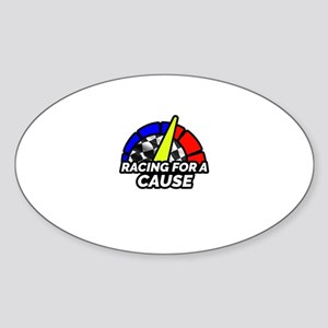 Racing For a Cause Logo Gear Sticker