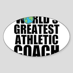 World's Greatest Athletic Coach Sticker