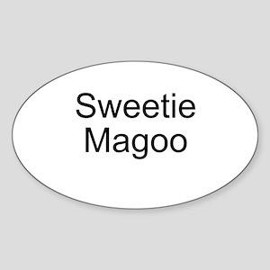 Sweetie Magoo Oval Sticker