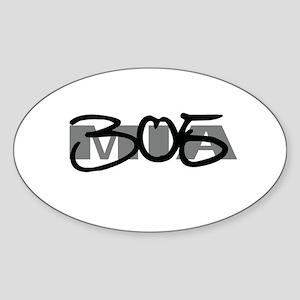 Miami 305 Oval Sticker