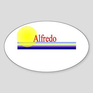 Alfredo Oval Sticker