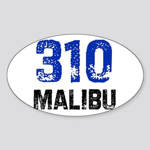 310 Oval Sticker