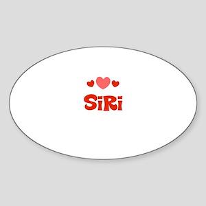 Siri Oval Sticker