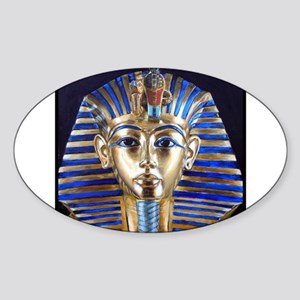 Tutankhamun Sticker (Oval)