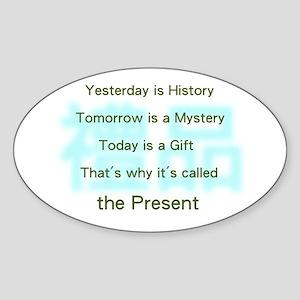 Gift Sticker (Oval)