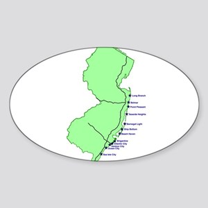 Jersey Shore Sticker