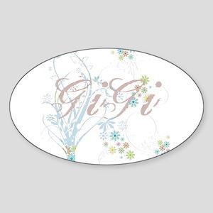 GiGi Oval Sticker