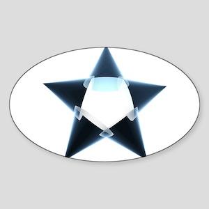 Oval Sticker