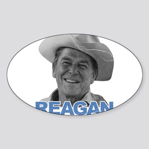 Reagan 1980 Election Oval Sticker