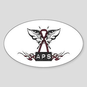 APS Tribal Oval Sticker
