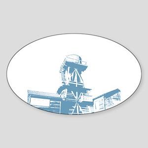WaterTower Oval Sticker