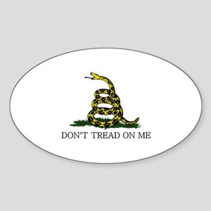 Gadsden Sticker (Oval)