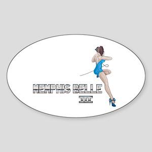 Memphis Belle III Sticker (Oval)