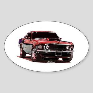 Mustang 1969 Oval Sticker