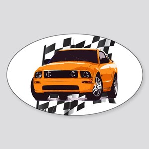 Mustang 2005 - 2009 Oval Sticker