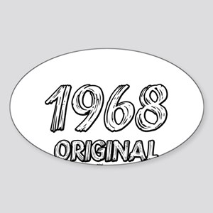 Mustang 1968 Sticker (Oval)